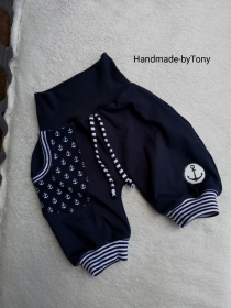 Kurze Pumphose /Shorts,, Anker 3