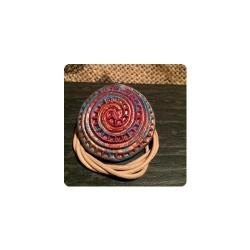 Handmade Symbolanhänger - Die galaktische Spirale - Schmuck für jeden Tag ^^