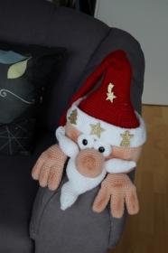 Kantenhocker Weihnachtsmann - Handarbeit kaufen