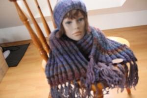 Mütze und Schal - Handarbeit kaufen