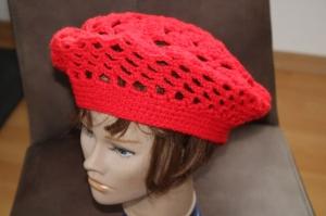 Baskenmütze rot - Handarbeit kaufen