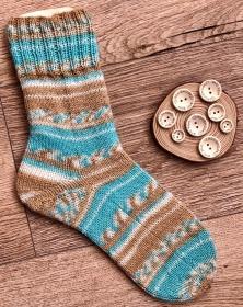 Gestrickte Socken Größe 38 kaufen - Handarbeit kaufen