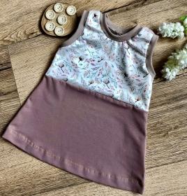 Mädchenkleid Kinderkleid Größe 74/80 Babykleid Sommerkleid  - Handarbeit kaufen