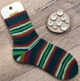 gestrickte Socken Größe 40 - Handarbeit kaufen