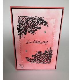 Stampin'up! Glückwunschkarte zum Hochzeitstag Handgefertigt   - Handarbeit kaufen