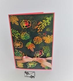 Grußkarte ohne Text für alle Anlässe Handgefertigt mit ©Stampin'Up Material  - Handarbeit kaufen