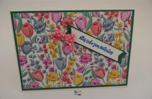 3D ♡ Muttertagskarte ♡ mit Grusstext Handgefertigt Stampin'Up!  - Handarbeit kaufen