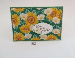 3D ♡ Geburtstagskarte für Mütter ♡ mit Grusstext Handgefertigt Stampin'Up! - Handarbeit kaufen
