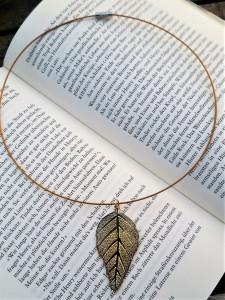 Das goldene Blatt, faszinierende Natur!