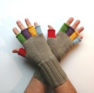 Stulpen Handschuhe RESERVIERT für Christine