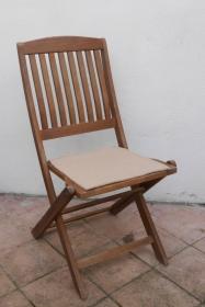 Sitzauflage aus zertifizierter ( ÖKOTEX 100) Schafwolle Strickfilz beige (Kopie id: 100253407) - Handarbeit kaufen