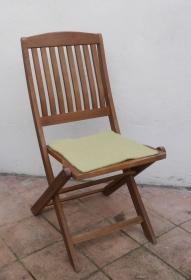 Sitzauflage aus Alpaka-/Schafwolle Mischung Strickfilz helloliv  - Handarbeit kaufen