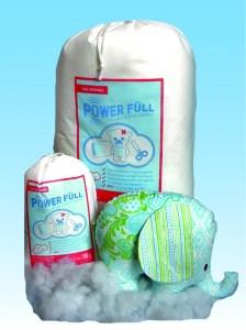 Füllwatte PowerFüll  hochwertige superflauschige Füllwatte mit OEKOtex-Standard 100 Zertifikat und Spielzeugnorm DIN71/3 waschbar und allergikerfreundlich
