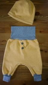 Baby Set Hose und Mütze das perfekte Geschenk zur Geburt  Retrolook