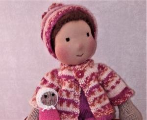 Waldorfpuppe - Puppe - Gestrickte Puppe - Waldorfart - Waldorf - Handarbeit kaufen