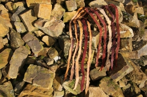 gefilzter Schal, Gitterschal, Schultertuch - Handarbeit kaufen