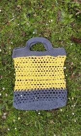 Einkaufsbeutel // Markttasche // Baumwoll-Shopper // Häkelbeutel aus 100% Baumwolle