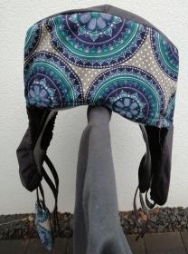 Sattelschoner Mandala, wasserabweisend mit passenden Steigbügelhüllen und individuell bestickbar!!! - Handarbeit kaufen