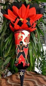 Schultüte Zuckertüte Ninja für Jungs  Drache  (Kopie id: 24972) (Kopie id: 24973)