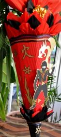 Schultüte Zuckertüte Ninja für Jungs  Drache  - Handarbeit kaufen