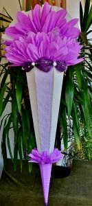 Handgemachte XXL Schultüte 140 cm Zuckertüte Rohling zum selbst verzieren für Mädchen