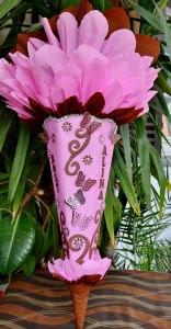Schultüte Schmetterling  Zuckertüte Rohling für Mädchen ABI  Abitur Geschenk