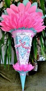 Schultüte Flamingo