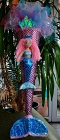 Schultüte Meerjungfrau  Zuckertüte Rohling für Mädchen ABI  Abitur Geschenk   Meer mermaid