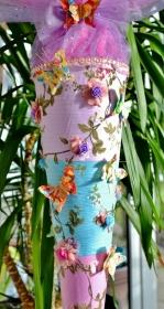 Schultüte Schmetterling  Zuckertüte Rohling für Mädchen ABI  Abitur Geschenk   Blumen Tüll
