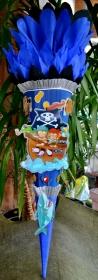 120 cm Schultüte  Pirat Zuckertüte Jungs