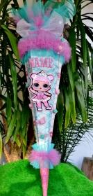Schultüte Ballerina Zuckertüte lol Rohling für Mädchen - Handarbeit kaufen