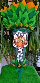 Schultüte  Tiger  Zuckertüte Jungs   - Handarbeit kaufen