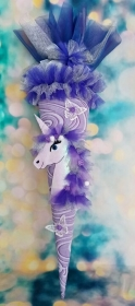Schultüte Einhorn Pferd Schmetterling  Zuckertüte - Handarbeit kaufen