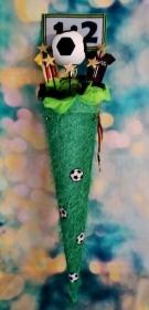 Schultüte Fußball  Zuckertüte  - Handarbeit kaufen
