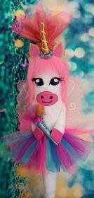 Schultüte Einhorn Pferd Pegasus  Schmetterling Zuckertüte