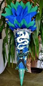 Schultüte Ninja Drache Zuckertüte  - Handarbeit kaufen