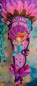 Schultüte Meerjungfrau Nixe  Zuckertüte - Handarbeit kaufen