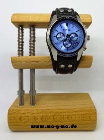 Uhrenhalter / Uhrenaufsteller aus Buchenholz - ohne Versandkosten kaufen