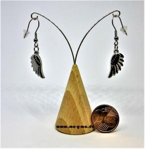 sexy Ohrringe mit Engelsflügelchen aus Edelstahl- kaufen
