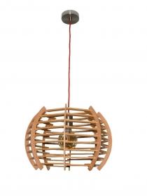 Moderner Holz-Lampenschirm