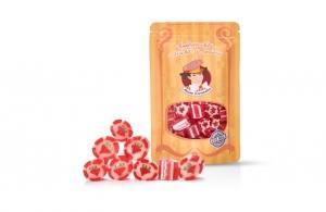 * Meister Karamellus * Erdbeer Bonbons in der 80 g Tüte * - Handarbeit kaufen