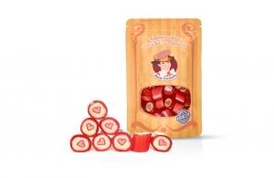 * Meister Karamellus * Himbeer - Vanille Bonbons in der 80 g Tüte *