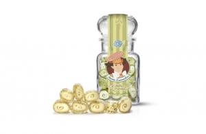 * Meister Karamellus * Pfefferminz Bonbon mit Minzblättern im 100 g Glas * - Handarbeit kaufen