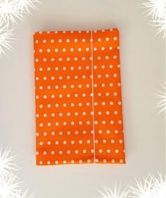 LHM Windeltasche aus Baumwolle in strahlendem orange  - Handarbeit kaufen