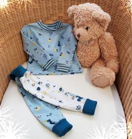 LHM Baby-Set 2tlg. Pumphose und Sweater Größe 62/68 - Handarbeit kaufen