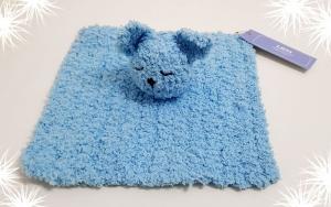 LHM Kuscheltuch BLUE BEAR - einfach zum Liebhaben - Handarbeit kaufen