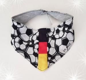 LHM Halstuch aus Sommersweat für den Fußballfan 47cm x 14cm