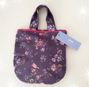 LHM Kinder-Handtasche mit Blumen- und Schmetterlingsmuster