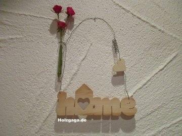 Türschild Home,Wandschild,Schriftzug,Home,Holzschriftzug,Holz,Wanddekoration,