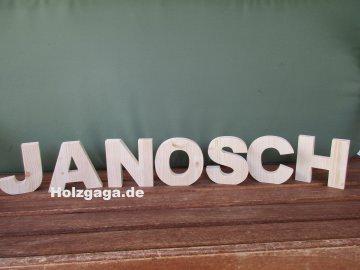 Handangefertigte Buchstaben aus Fichtenholz,Schriftzug,Buchstaben aus Holz
